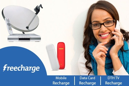 Online Recharge Offers Rs.100 Mobile ,DTH And Datacard Recharge Or Postpaid Mobile Bill For Rs.49 – FreeCharge Offer