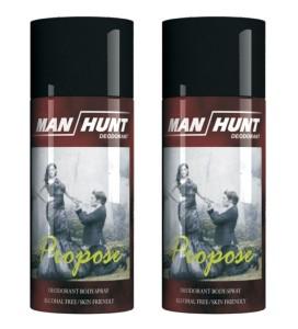 Man Hunt Propose Deodorant