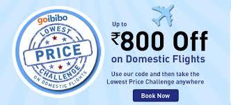 Goibibo domestic flight coupons