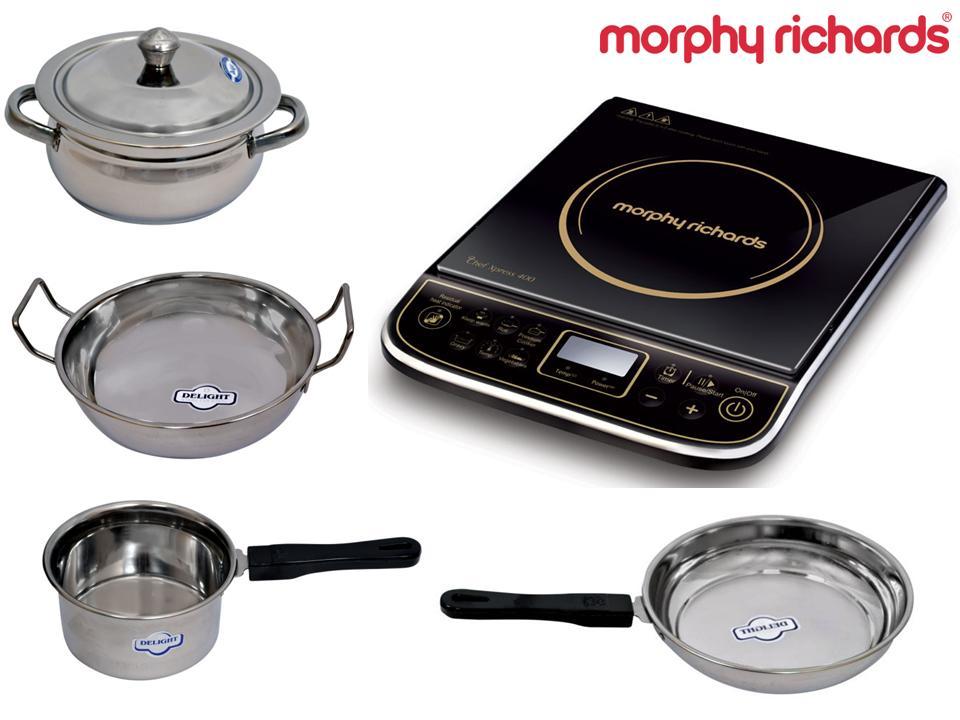 indiatimes shopping deal morphy richards induction cooker. Black Bedroom Furniture Sets. Home Design Ideas