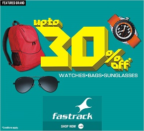 Fastrack watches discount coupons