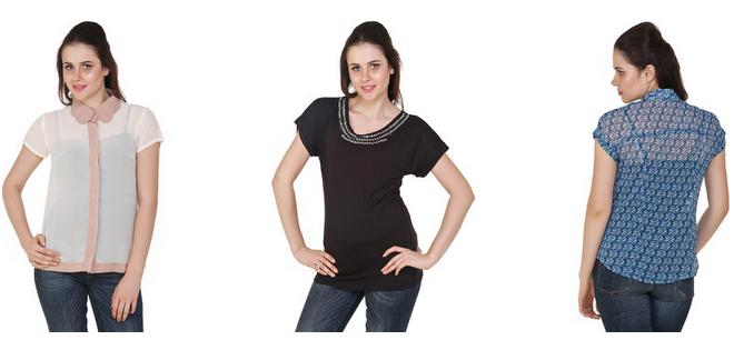 Flipkart online shopping womens tops